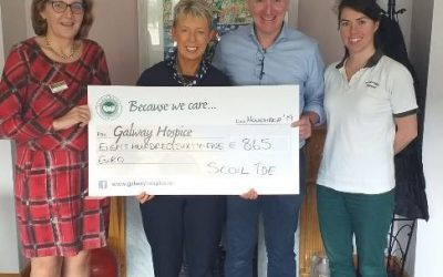 Scoil Íde Supports Galway Hospice