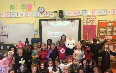 Second Class Halloween Fancy Dress Party