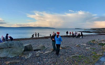 Clean up of the beach in Salthill